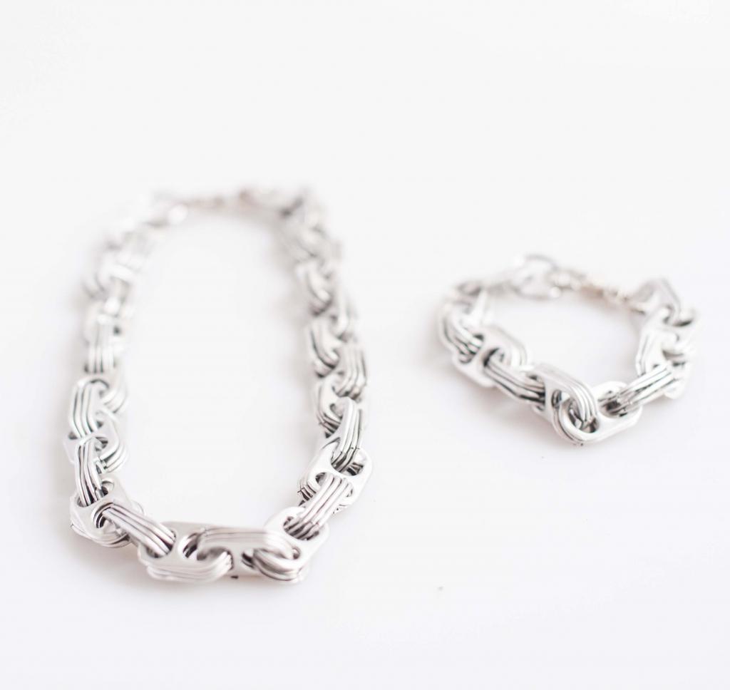 Tib Tab Necklace & Bracelet